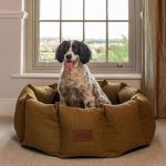 Large Size Fabric Den In Country Green
