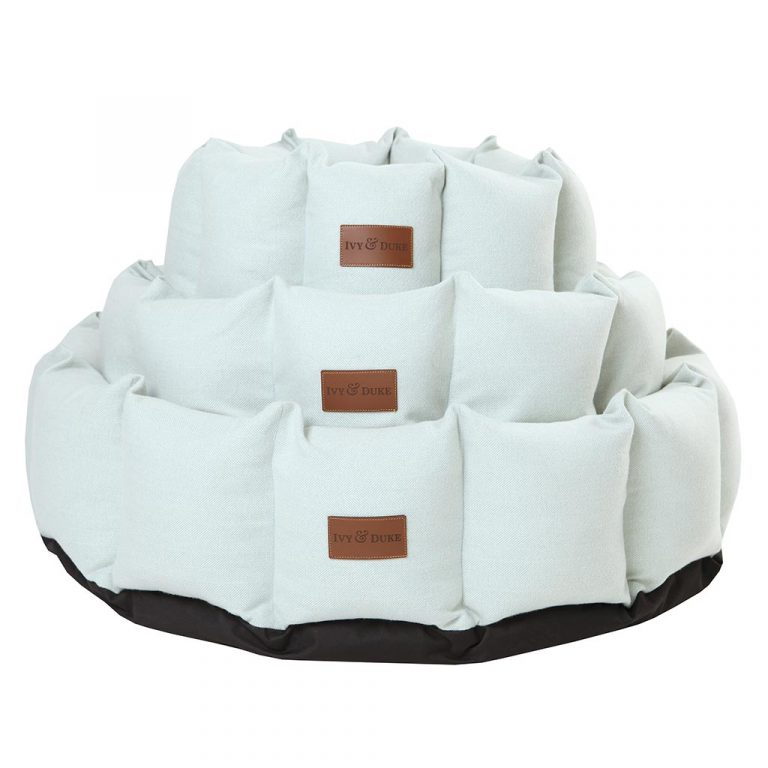 Fabric Den Bed Stack in Duck Shell