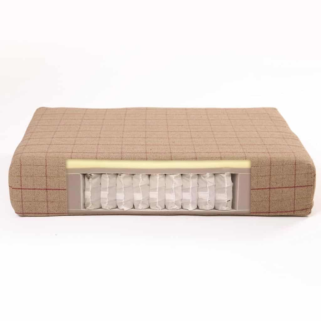 Fabric Muttress Dog Bed filling